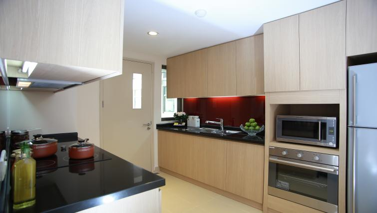 Equipped kitchen at Somerset Ho Chi Minh Apartments - Citybase Apartments