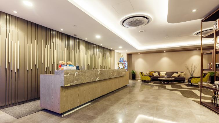 Reception at Somerset Ho Chi Minh Apartments - Citybase Apartments
