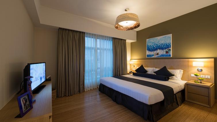 Ideal bedroom at Somerset Ho Chi Minh Apartments - Citybase Apartments