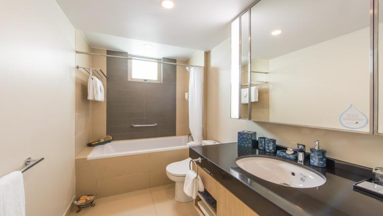 Immaculate bathroom at Somerset Ho Chi Minh Apartments - Citybase Apartments