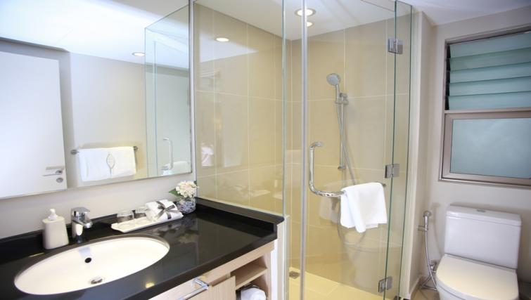 Shower at Somerset Ho Chi Minh Apartments - Citybase Apartments