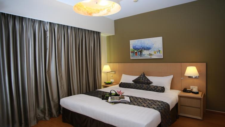 Bed at Somerset Ho Chi Minh Apartments - Citybase Apartments