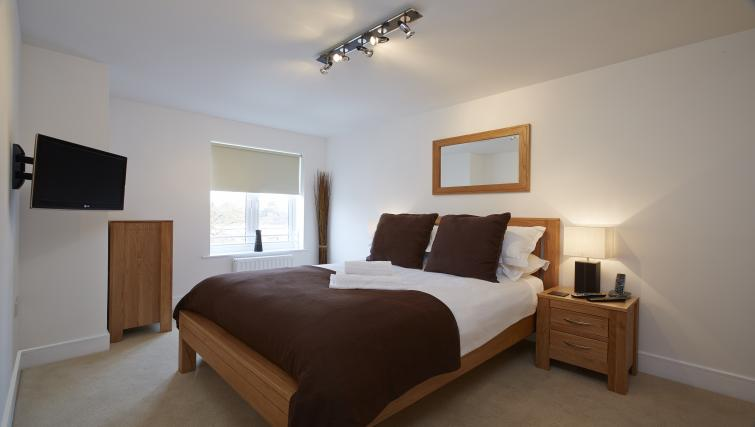 Bedroom at Burghley Court - Citybase Apartments
