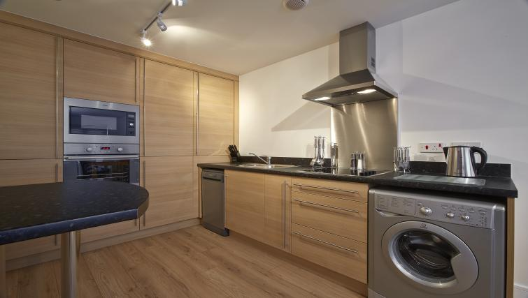 Kitchen at Burghley Court - Citybase Apartments
