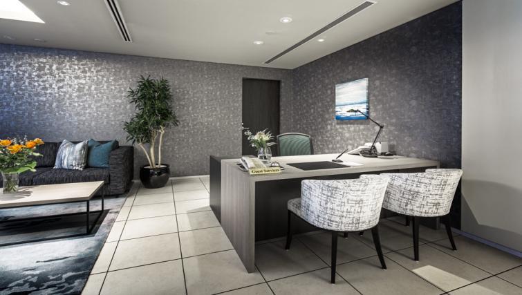 Reception at Somerset Azabu East Apartments - Citybase Apartments