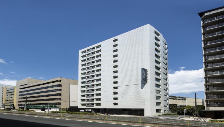Exterior of Somerset Azabu East Apartments - Citybase Apartments