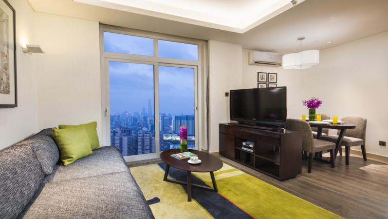 Stylish living area in Somerset Xu Hui Apartments - Citybase Apartments