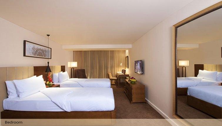 Bedroom in Oakwood Residence Prestige Whitefield Bangalore - Citybase Apartments