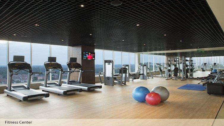 Ideal gym in Oakwood Residence Prestige Whitefield Bangalore - Citybase Apartments