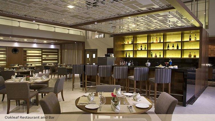 Tasteful communal lounge in Oakwood Residence Prestige Whitefield Bangalore - Citybase Apartments