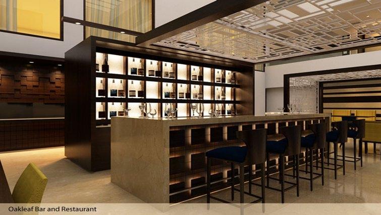 Fantastic bar in Oakwood Residence Prestige Whitefield Bangalore - Citybase Apartments