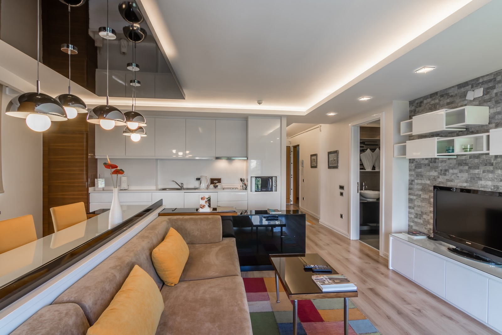 Layout at Aura Suites - Citybase Apartments
