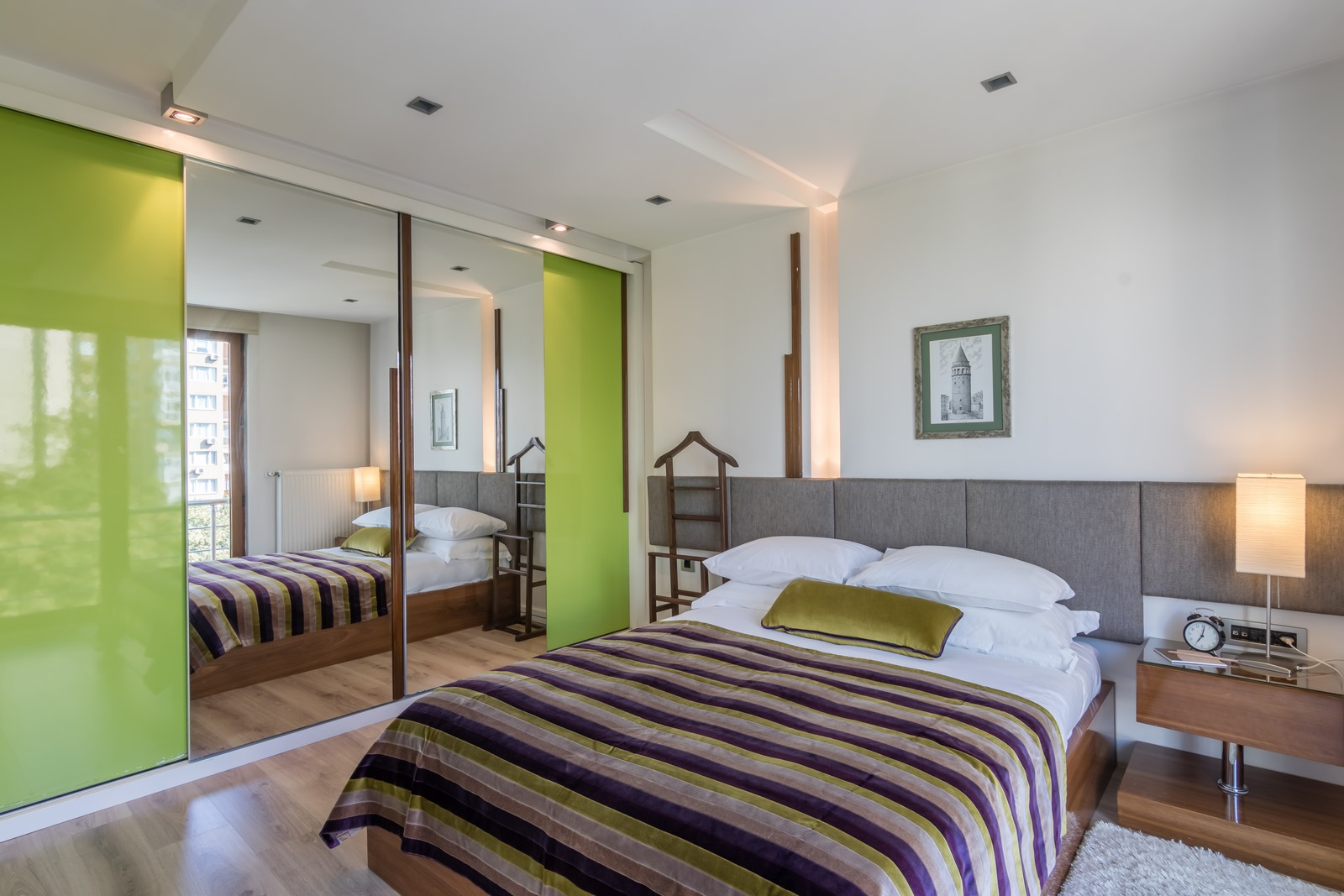 Bedroom at Aura Suites - Citybase Apartments