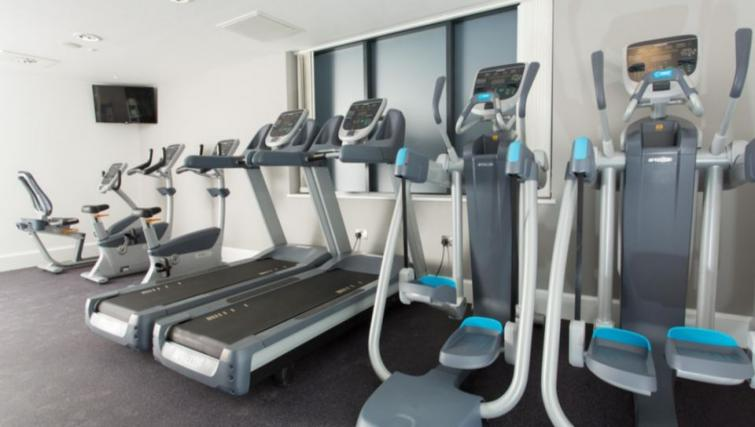Equipped gym in Staybridge Suites Birmingham - Citybase Apartments