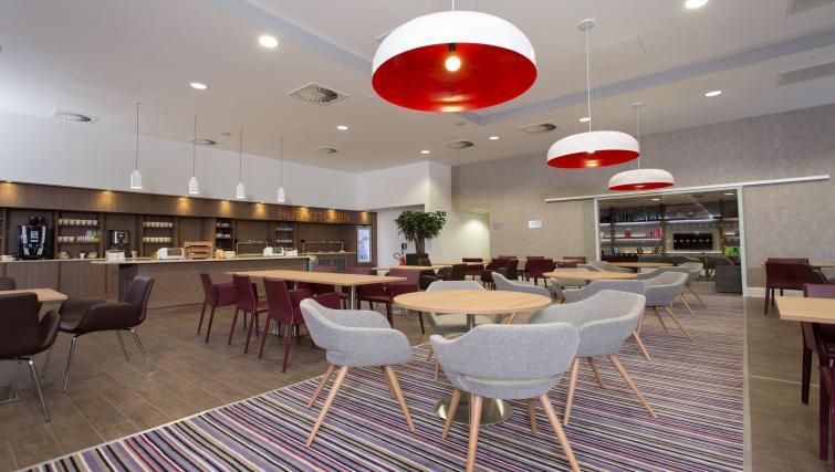 Lounge in Staybridge Suites Birmingham - Citybase Apartments