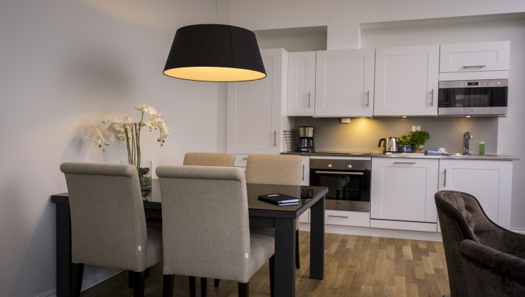 Desirable dining area in Frydenlundgata Apartments - Citybase Apartments
