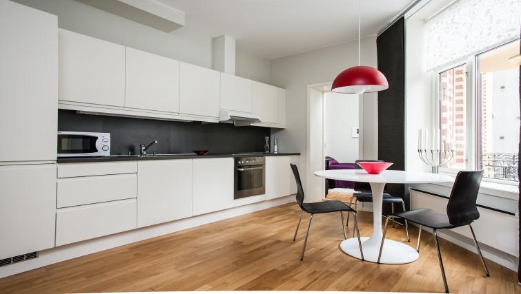 Gorgeous kitchen in Parkveien Apartments - Citybase Apartments