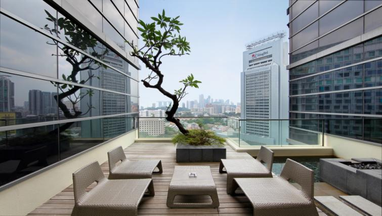Terrace at Pan Pacific Serviced Suites Orchard, Singapore - Citybase Apartments