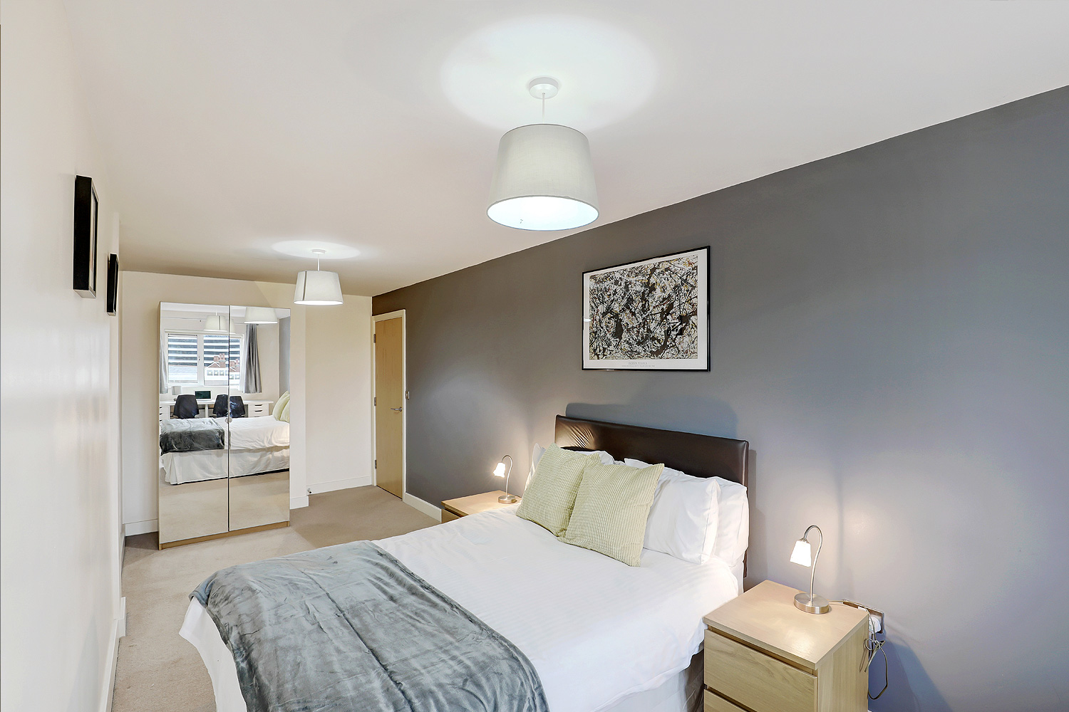 Bedroom at Templar House - Citybase Apartments