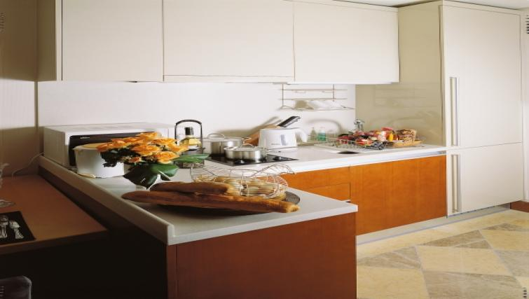 Modern kitchen at Somerset Palace Apartments - Citybase Apartments