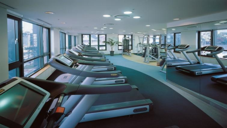 Gym at Somerset Palace Apartments - Citybase Apartments