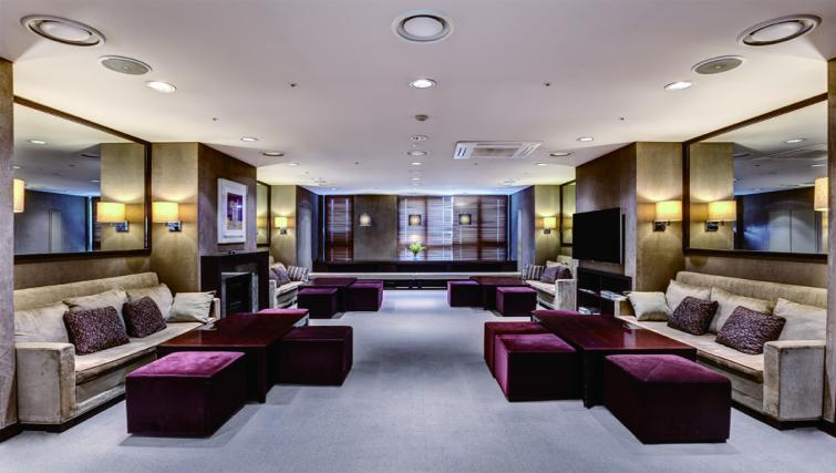 Communal lounge at Somerset Palace Apartments - Citybase Apartments