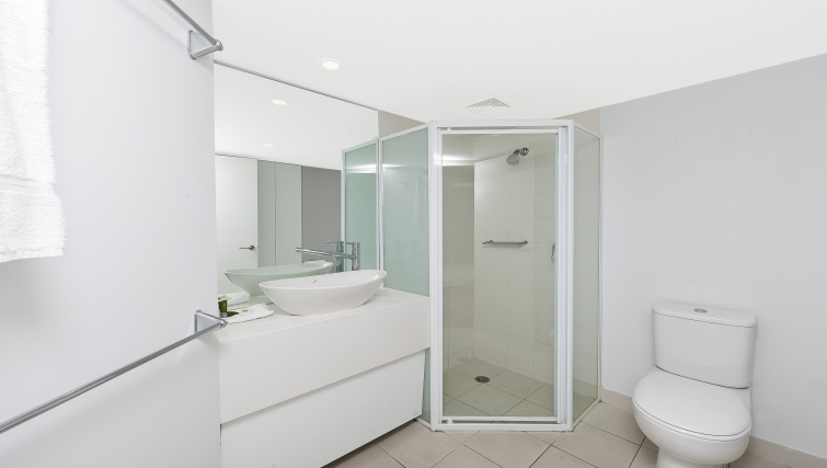Bathroom at Astra Apartments Canberra Griffin - Citybase Apartments