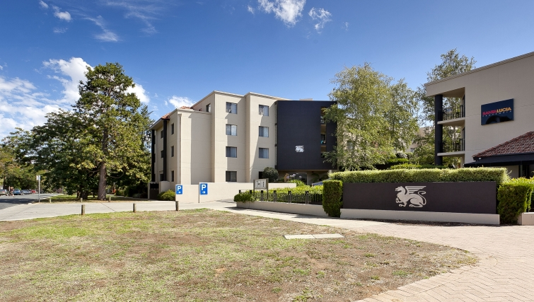 Exterior of Astra Apartments Canberra Griffin - Citybase Apartments