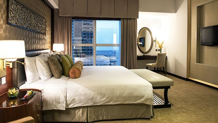 Bedroom at Dusit Thani Dubai Apartments - Citybase Apartments