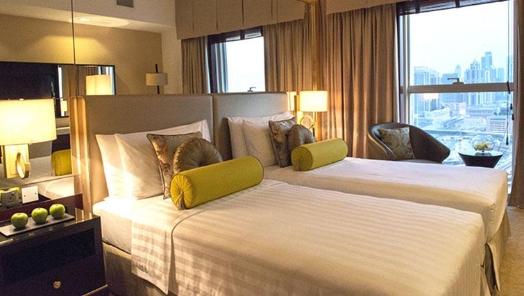 Twin bedroom at Dusit Thani Dubai Apartments - Citybase Apartments