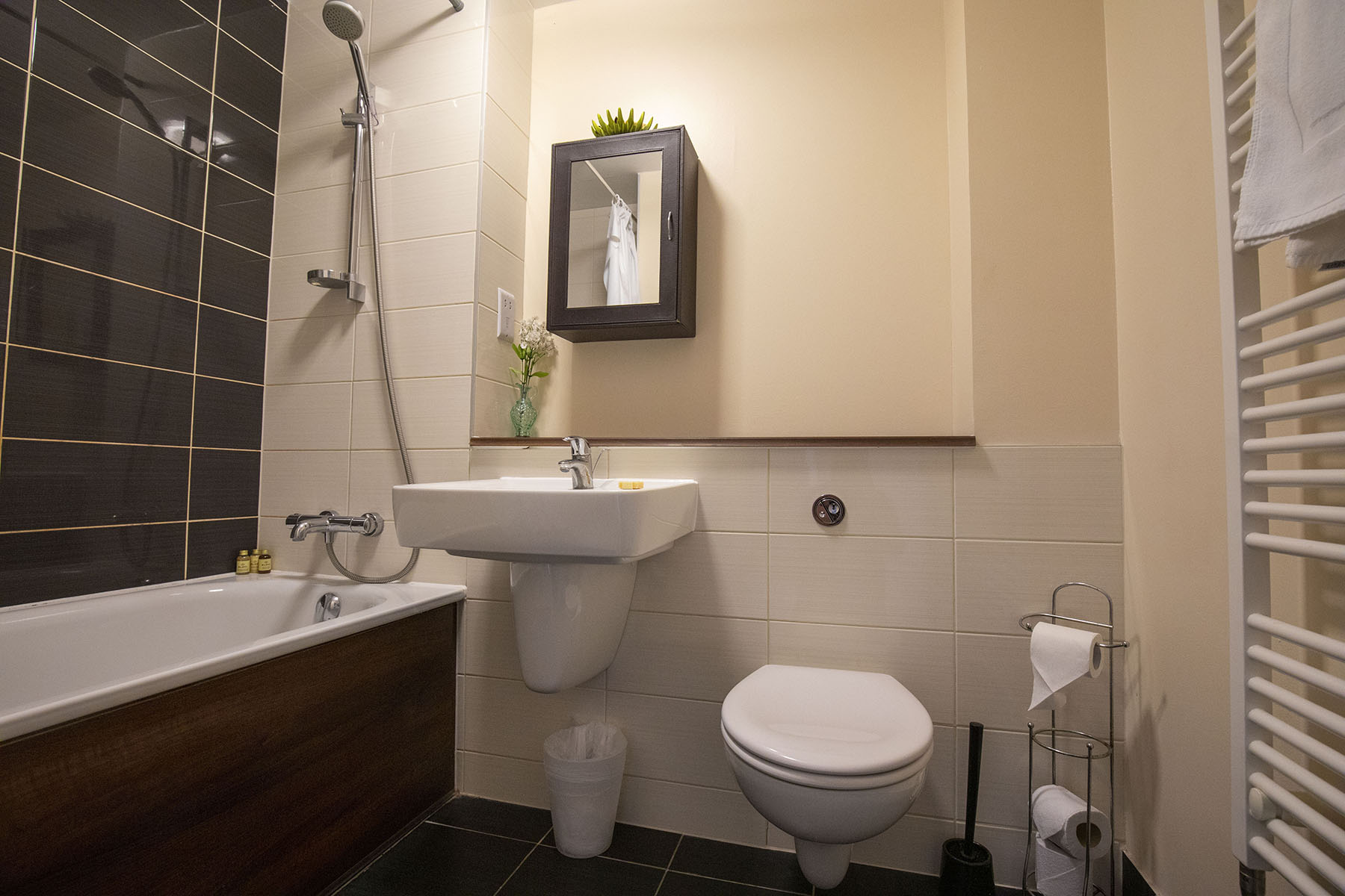 Bathroom at Flexi-Let Skyline Plaza Apartments, Centre, Basingstoke - Citybase Apartments