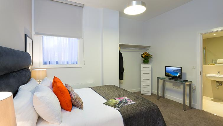 Master bedroom in SACO Manchester - Piccadilly - Citybase Apartments