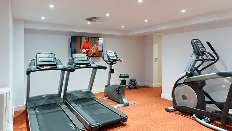 Gym in SACO Manchester - Piccadilly - Citybase Apartments