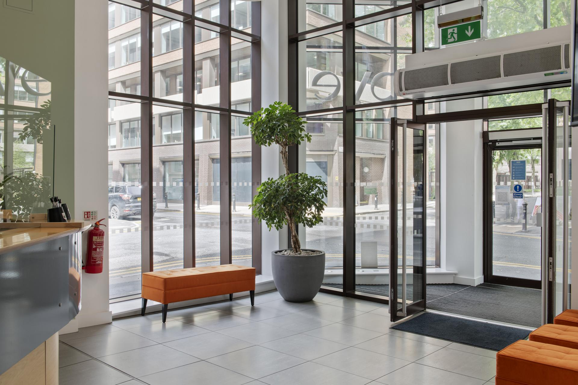 Entrance at Cove Minshull Street, Piccadilly, Manchester - Citybase Apartments