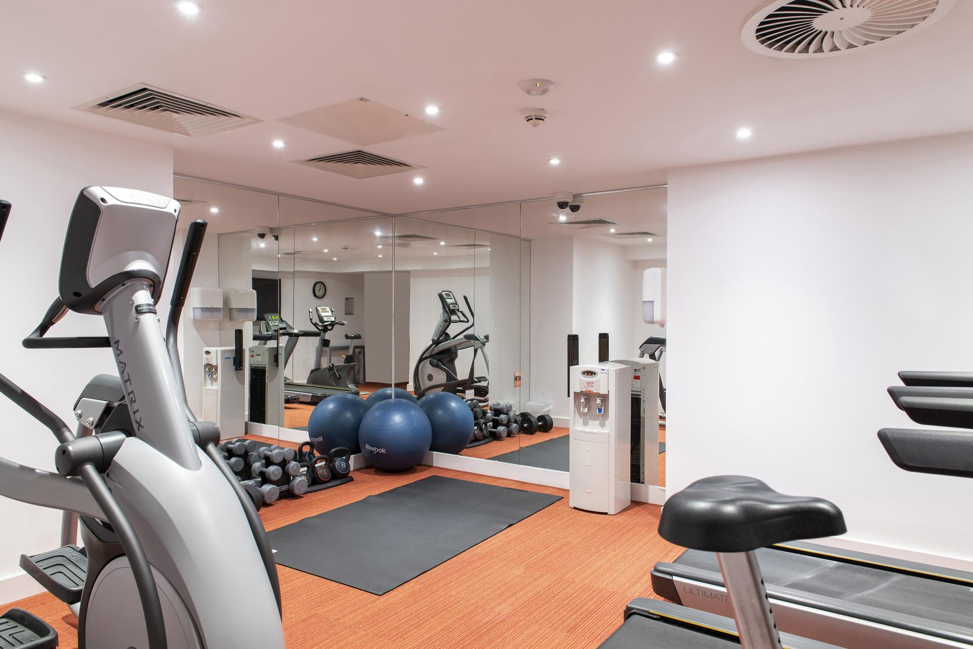 Gym at Cove Minshull Street, Piccadilly, Manchester - Citybase Apartments