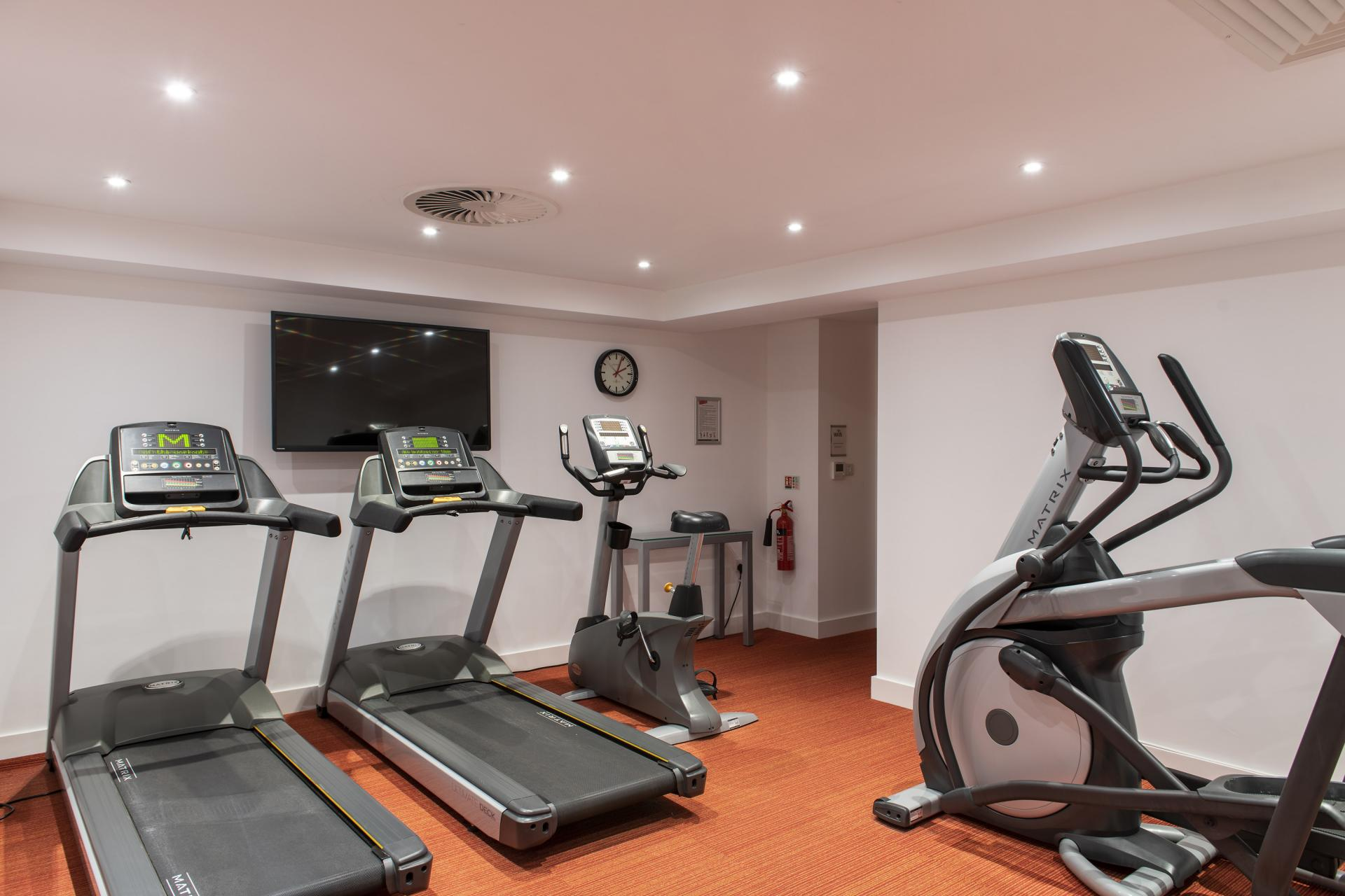 Fitness centre at Cove Minshull Street, Piccadilly, Manchester - Citybase Apartments