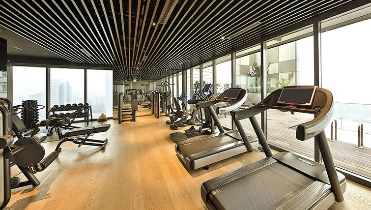 Gym at Pan Pacific Serviced Suites Beach Road, Singapore - Citybase Apartments