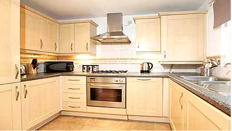 Desirable kitchen in Packington Place Apartments - Citybase Apartments