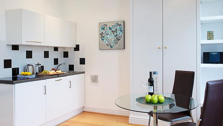 Pristine kitchen in Flying Butler Longridge Road Apartments - Citybase Apartments