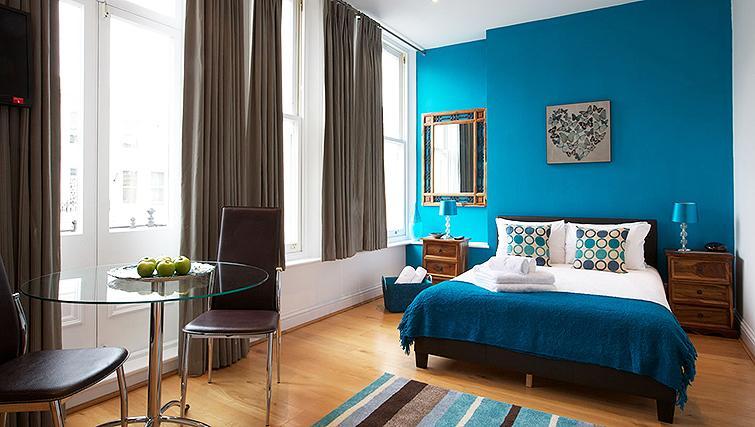 Stunning bedroom in Flying Butler Longridge Road Apartments - Citybase Apartments