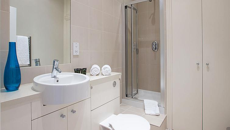 Bathroom at Flying Butler Longridge Road Apartments - Citybase Apartments