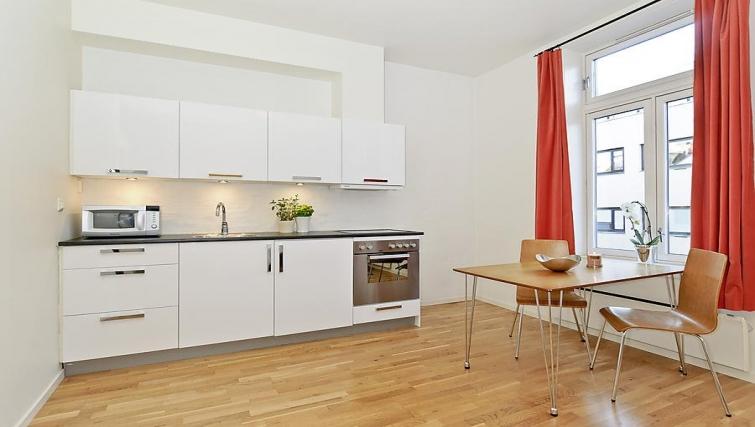 Kitchen in Sven Bruns Gate Apartments - Citybase Apartments