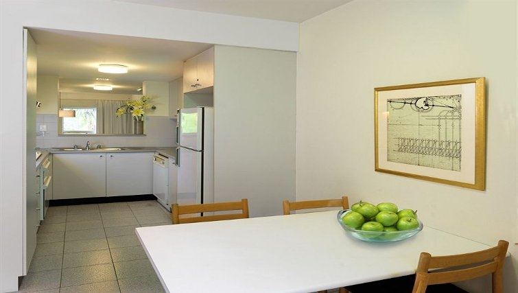 Immaculate kitchen at Medina Serviced Apartments North Ryde - Citybase Apartments
