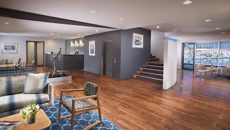 Lobby at Somerset on the Pier Apartments - Citybase Apartments