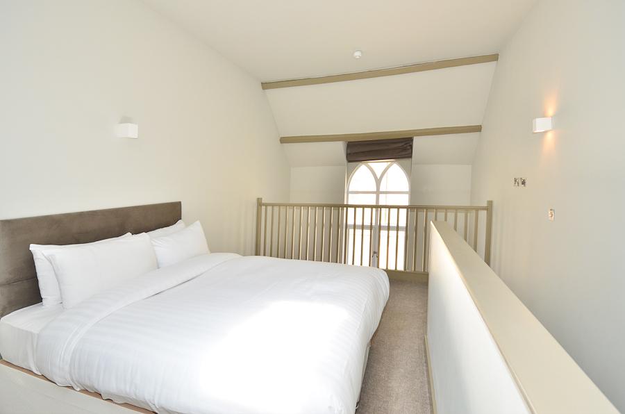 Mezzanine bedroom at So Arch Way Apartments - Citybase Apartments