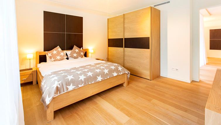 Bedroom at Freigut 26 Apartments - Citybase Apartments
