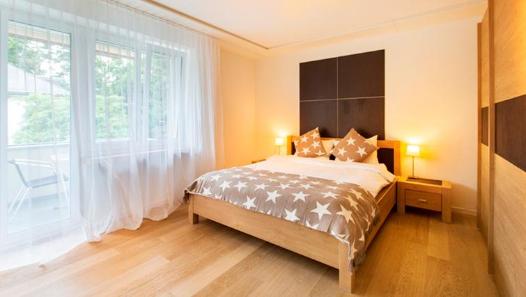 Double bedroom at Freigut 26 Apartments - Citybase Apartments