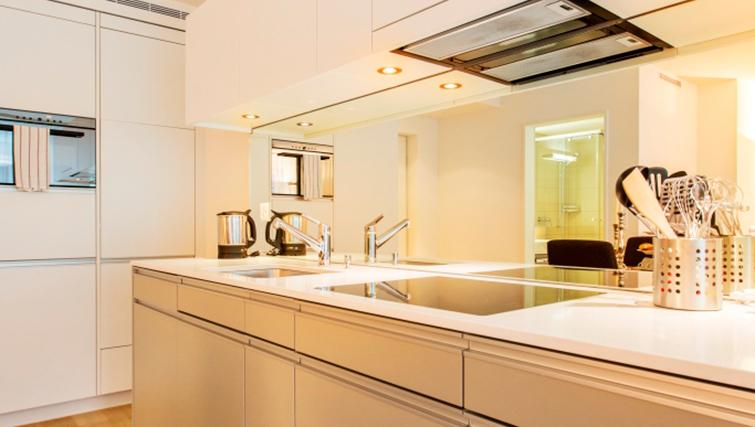 Kitchen at Freigut 26 Apartments - Citybase Apartments