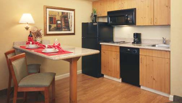 Ideal kitchen in Homewood Suites Boston Peabody - Citybase Apartments