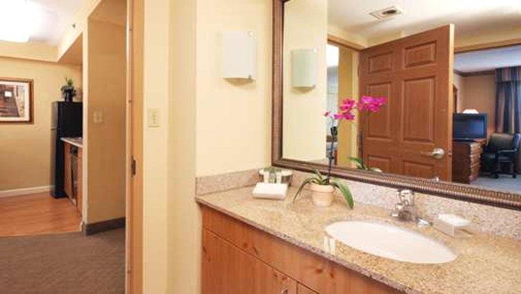 Relaxing bathroom in Homewood Suites Boston Peabody - Citybase Apartments